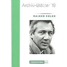 Rainer Erler (Archiv-Blätter)
