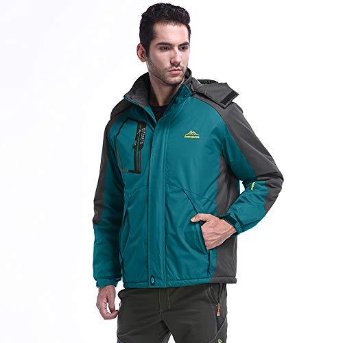 JiaMeng Jacket Invierno para Montaña Cámping Viajes Abrigo de Asalto para Deporte...