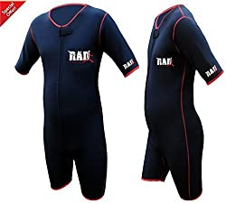 Heavy Duty RAD Sauna Sweat Suit Gym Boxing MMA Weight Loss Slimming Shorts UFC (Medium)