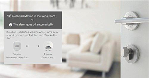 Sigma Casa Smart Motion Sensor – intelligenter Bewegungsmelder für Smart-Home Haus-Automatisierung dient als Alarmanlage, Licht-Steuerung oder Schaltung von Steckdosen über Smartphone oder Tablet - 8