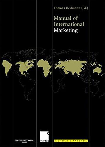 Manual of International Marketing.