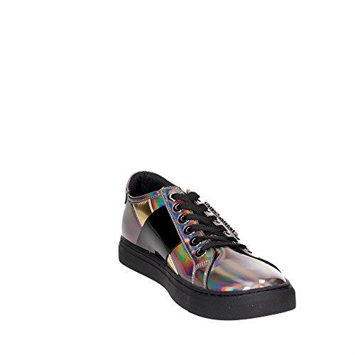 Armani Sneaker Bassa, Sneaker Basse Donna Gun Metal