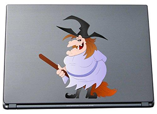 Pinkelephant KAR-lap-WITCH-012-297 Aufkleber für Laptop