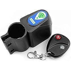 Control remoto inalámbrico Buwico bicicleta alarma sirena Shock Sensor de vibración ciclismo protector de bloqueo antirrobo alarma