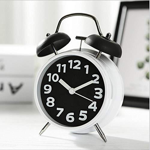 JIAHUALI Retro Sveglia Sveglia da Comodino Sveglia da casa Versione Coreana di Caramelle Color Sveglia Multicolor Opzionale