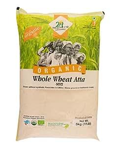 24Mantra Organic Wholewheat Atta Premium (1 Kg)