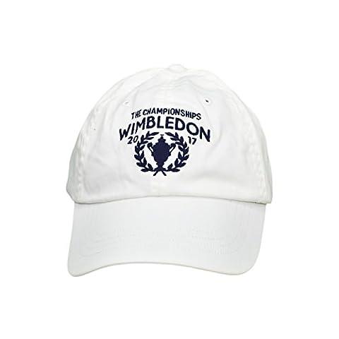 Casquette Ralph Lauren Blanche - Casquette Ralph Lauren Wimbledon blanche pour