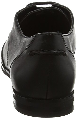 Clarks Andora Trick, Brogue Donna Nero (Black Leather)