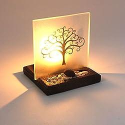 Tree of Life - Soporte para Luces en T con Pantalla iluminada