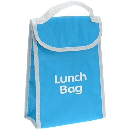 Promobo - Lunch Bag Isotherme Sac Panier Repas Goûter 4L Bleu