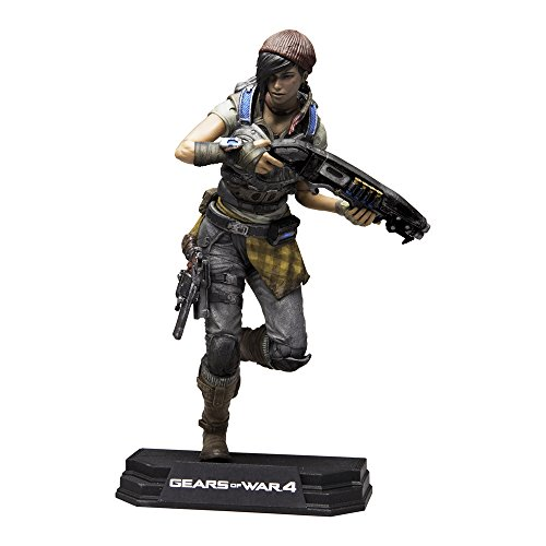 Gears Of Wars 12007 4 Kait Diaz Farbe Tops Figur, 17,8 cm -