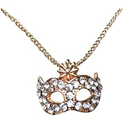 50 Shades of Grey. En la película inspirada en tono de oro máscara de cristal lámpara de techo/collar con colgante en forma. Christian y Anastasia