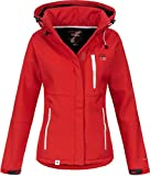 Geographical Norway Giubbotto Tchika Donna Softshell Giacca Impermeabile Anapurna Tecnica RossoXXL