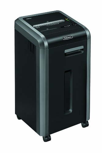 Bargain Fellowes Powershred 225Ci  24 Sheet Cross Cut Commercial Shredder With Jam Proof, SafeSense and SilentShred Reviews