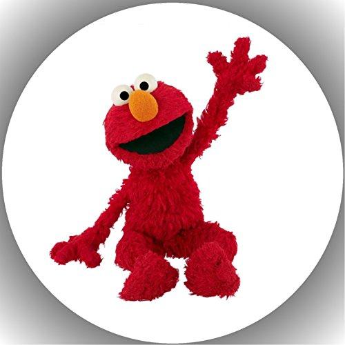 Fondant Tortenaufleger Tortenbild Geburtstag Sesamstarße Elmo T2