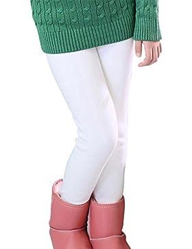 Niña En Mallas Leggings Elástico Pantalones Grueso Cálido Forrado Caliente Jeggings