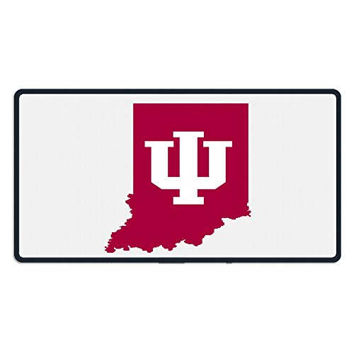 Schwarz Indiana Freiwurf (Film) NCAA Logo 101,6x 190,5cm Maus Matten (Maus-pad-basketball)