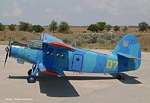 Herpa 559713 Antonov AN-2 - Miniatura de Antonov de Ucrania