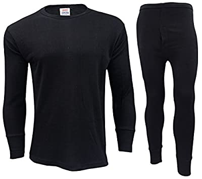 GAFFER Mens Thermal Long Johns / Bottoms Trousers, Long Sleeve T Shirt Top Vest Underwear