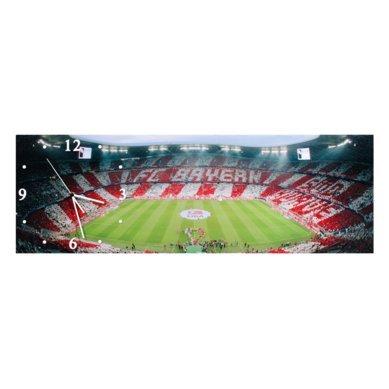 FC Bayern München Wanduhr Allianz Arena Uhr