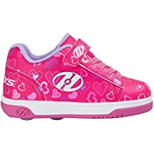 Heelys X2 Dual Up – Zapatos, color rosa/blanco/corazón