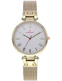 63672b71c7b1 Radiant Juliana Reloj para Mujer Analógico de Cuarzo con Brazalete de Acero  Inoxidable bañado en Oro