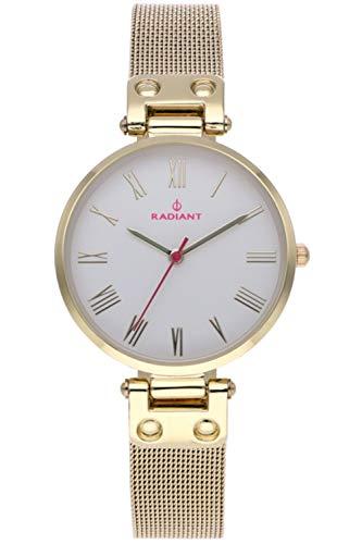Radiant juliana orologio Donna Analogico al Al quarzo con cinturino in Acciaio INOX placcato RA495604