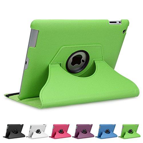 doupi 360° Deluxe Schutzhülle für iPad 2 3 4 Smart Case Sleep...