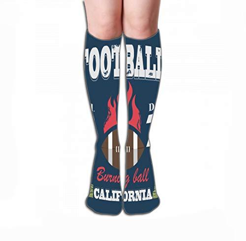 Hohe Socken Socks for Women & Men Best for Running, Athletic Sports, Crossfit, Flight Travel 19.7