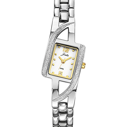 Certus 634428 – Ladies Watch – Analogue Quartz – Silver Dial – Two-Tone Metal Bracelet