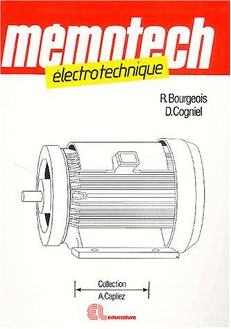 Electrotechnique par René Bourgeois