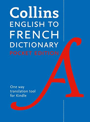 Collins English to French (One Way) Pocket Dictionary: Trusted ...