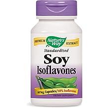 Las isoflavonas de soja, estandarizado, 60 Cápsulas - Camino de la Naturaleza