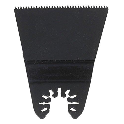 cnbtr schwarz kohlenstoffreicher Stahl Quick Release Japan Zahn oszillierendes Sägeblatt Multi Tools, schwarz