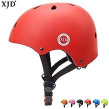 XJD Casco Ajustable para Niños, Casco de Bicicleta para Multi-Sport BMX Ciclismo Monopatín