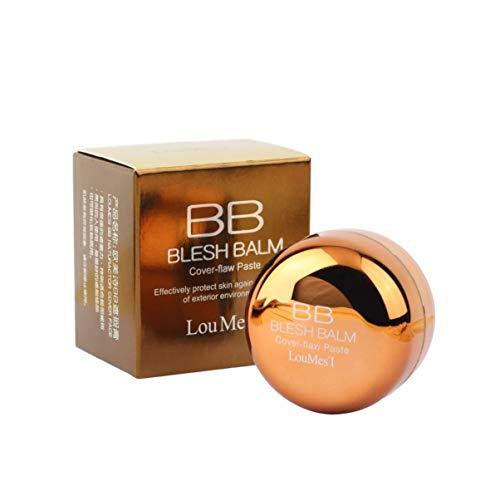 Monllack Blemish Air Cushion BB Cream Sonnencreme Concealer Glatte, feuchtigkeitsspendende Foundation Make-up bloßes Starkes Whitening Face Beauty