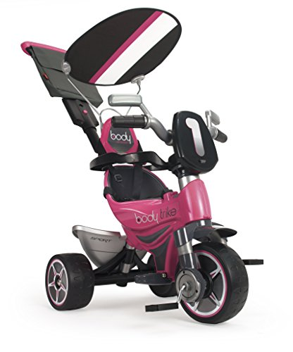 INJUSA Triciclo Infantil Body Sport Evolutivo de Color Rosa, 12m+ (3252)