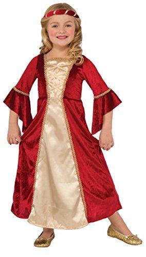 Scarlet Princess Costume Child Small (Scarlet Girl Kostüme)