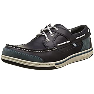 Sebago TRITON THREE EYE, Herren Bootsschuhe, Blau (BLUE NIGHT/BLUE), 46 EU