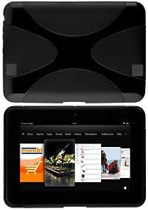 mumbi X-TPU Schutzhülle Amazon Kindle Fire HD (7 Zoll) Hülle schwarz (Modell 2012)