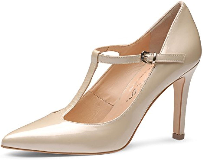 Evita Shoes ILARIA ILARIA Shoes escarpins femme cuir verni beige  42B00R6UENX2Parent 1f68ab ef47bb511c32