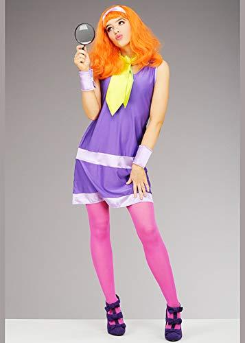 (Magic Box Int. Scooby DOO Daphne Kostüm für Erwachsene Small (UK 8-10))