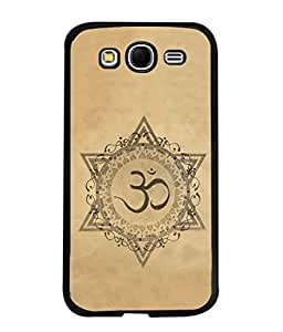 PrintVisa Designer Back Case Cover for Samsung Galaxy Grand Neo Plus (Om spritual icon Indian religion)