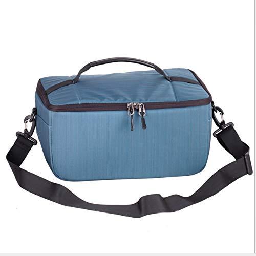 CZZ Super wasserdichte Digitale Aufbewahrungstasche , Aufbewahrungstasche SLR-Zubehör-Kit , wasserdicht, für Fotografen (Farbe : Blau) Slr Gadget Bag