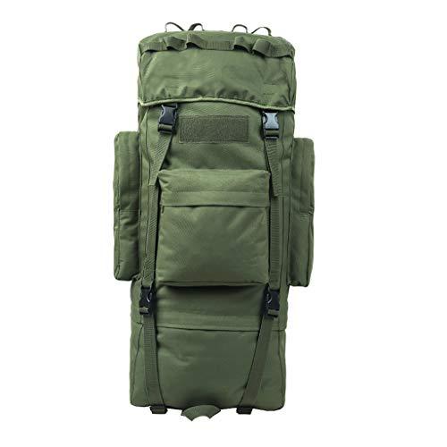 WYJW 65L / 100L Tactical Assault Rucksäcke Outdoor High Capacity Reisetaschen für 16-Zoll-Laptop/Notebook/Computer (Größe: 65L) - 100l Notebooks