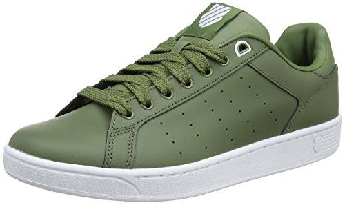 k-swiss-mens-clean-court-cmf-low-top-sneakers-black-olivine-white-312-85-uk