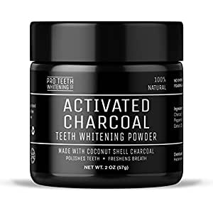 activated charcoal natural teeth whitening powder by pro teeth whitening co manufactured in. Black Bedroom Furniture Sets. Home Design Ideas