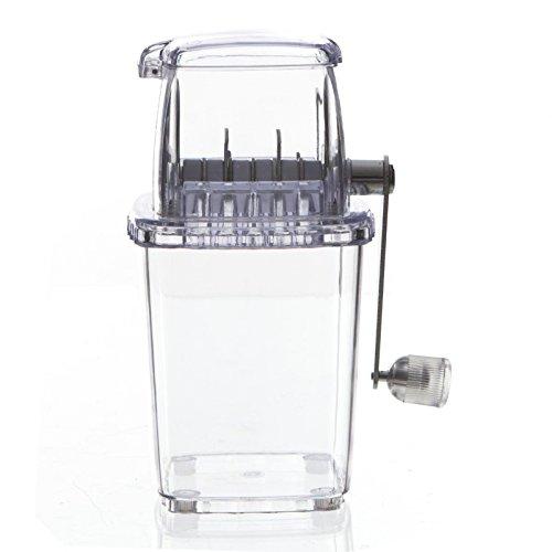 Picadora de hielo - Máquina para hacer hielo picado - Color TRANSPARENTE