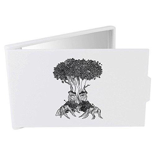 'Beängstigend Baum' Taschenspiegel / Kosmetikspiegel (Up Beängstigend Make)