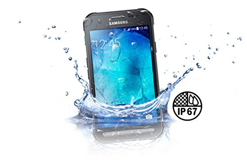 Samsung Galaxy Xcover 3 Handy (4,5 Zoll (11,4 cm) Touch-Display, 8 GB Speicher, Android 4.4) dunkelsilber - Bild 2